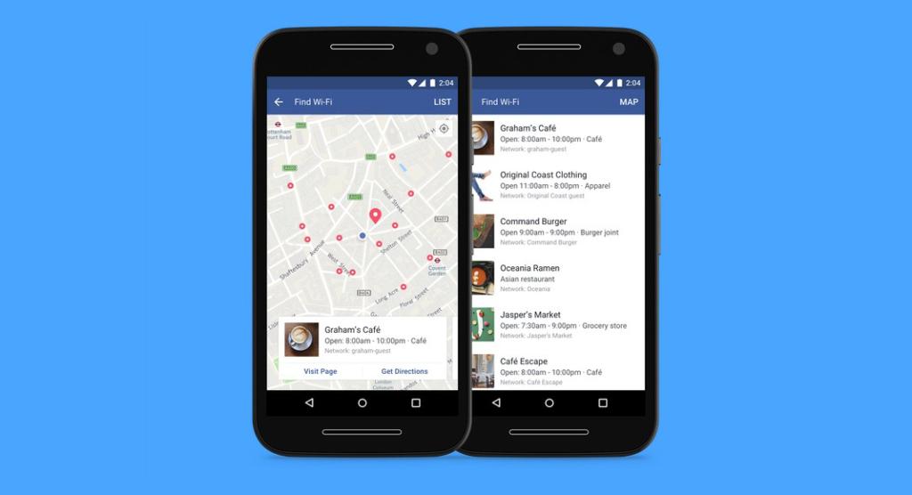 Facebook acha redes Wi-Fi a partir de agora