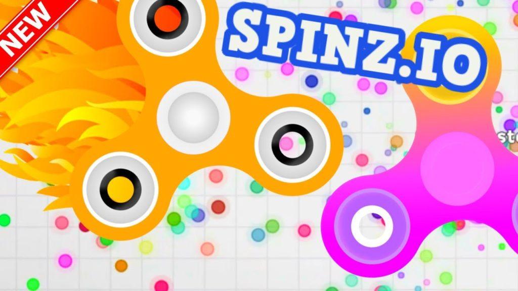 Jogo Spinz.io é a mistura de Hand Spinner e Agar.io 1