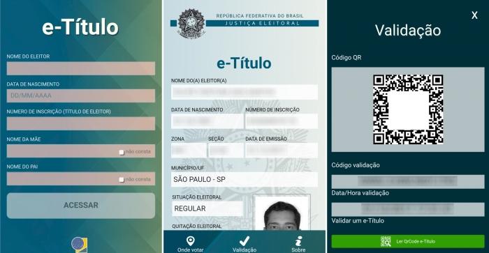 Você poderá usar o app E-título para votar nas próximas eleições 2
