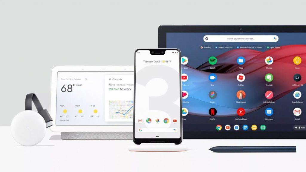 Google lança novidades: Pixel 3, Pixel Slate e Chromecast 1