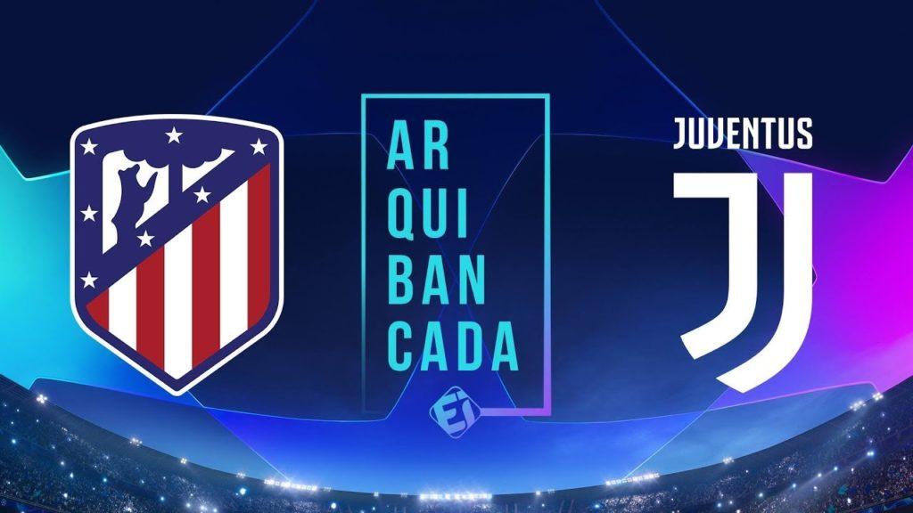 62c5d19eba Atlético de Madrid x Juventus Narração Online Esporte Interativo ...