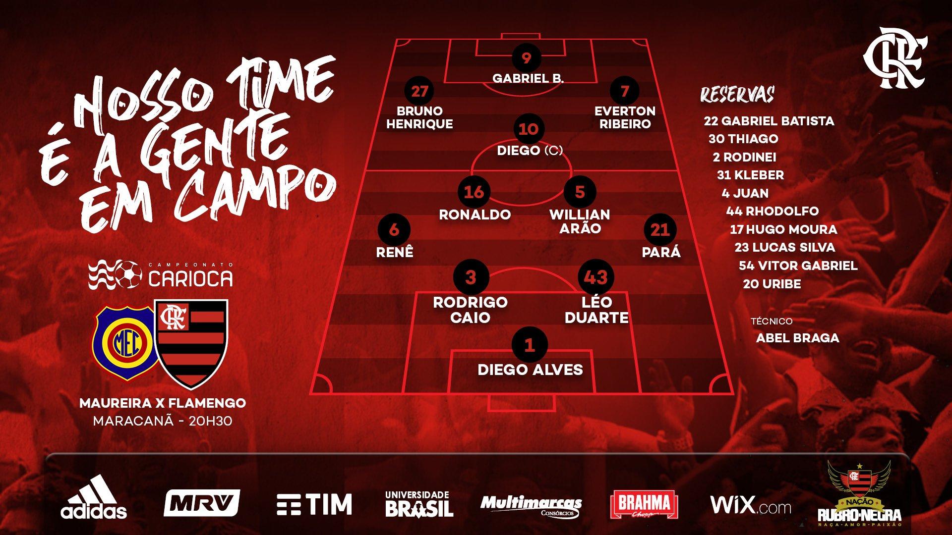 Madureira x Flamengo Acompanhe a Partida pela Narração Online 2