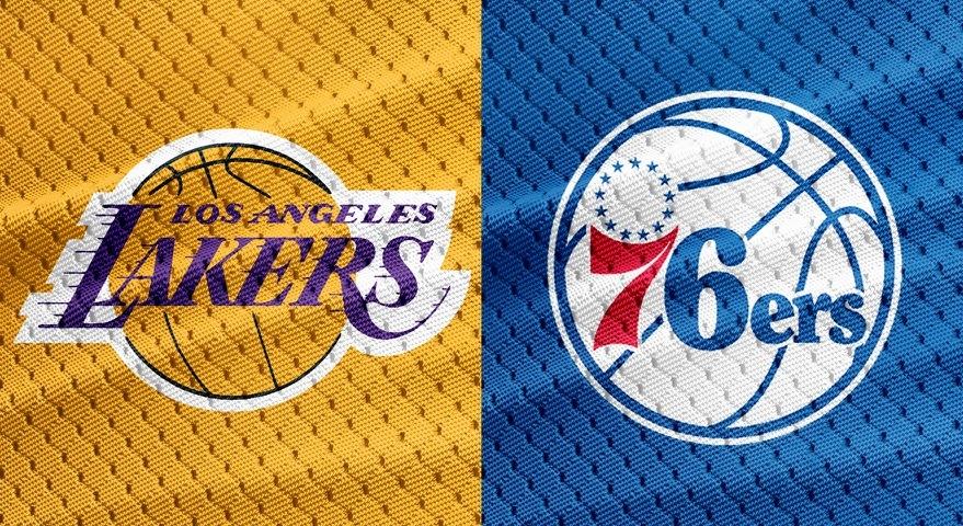 Los Angeles Lakers x Philadelphia 76ers